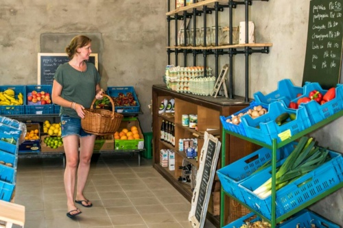 biowinkel voedselbron graauw
